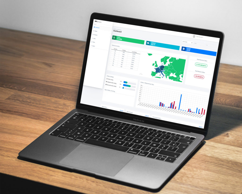MH direct Services Dashboard